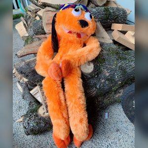 FIESTA, fuzzy, orange, Rasta puppet!!